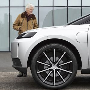 Dyson electric battery vehicle