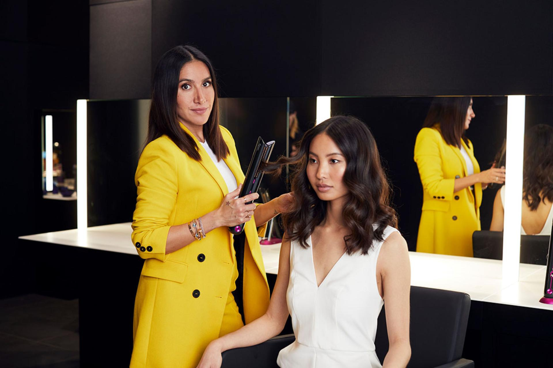 Dyson ambassadors reveal how to style hair at home