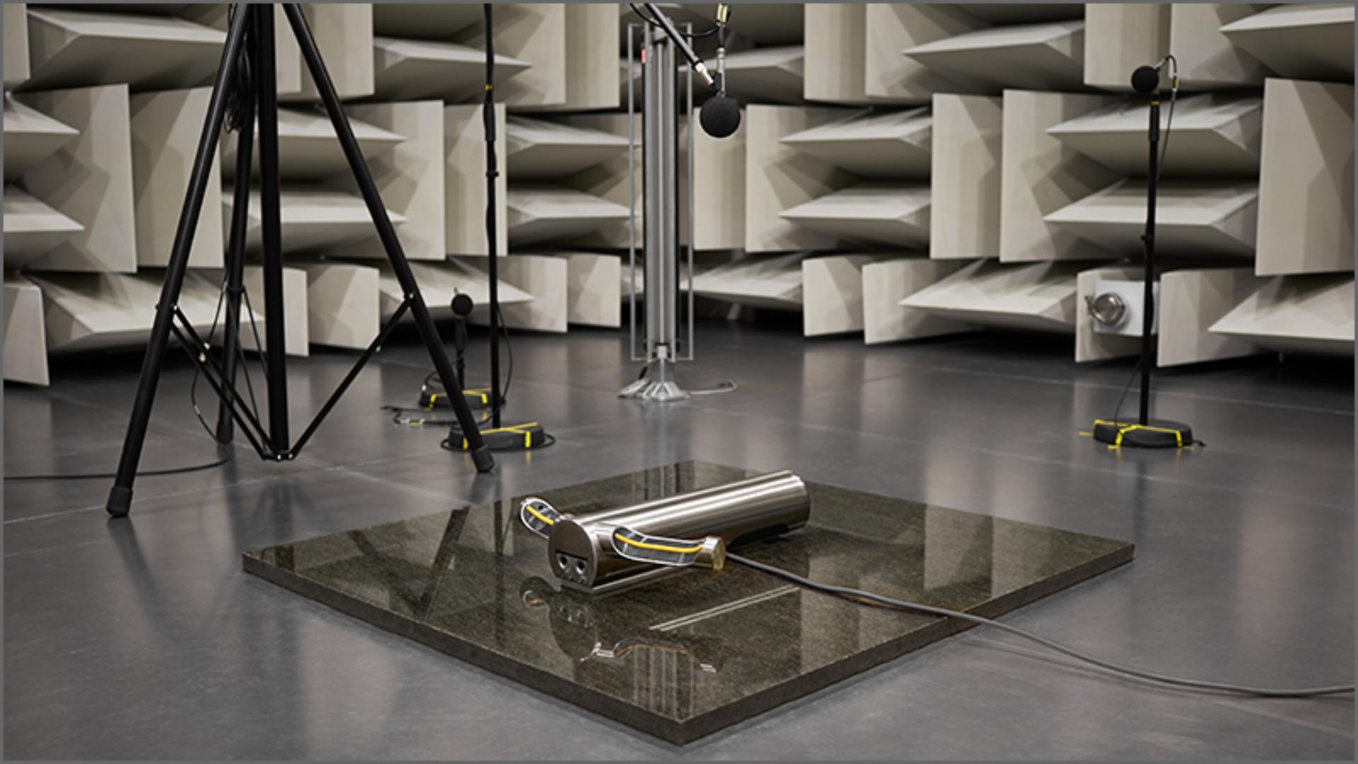 Image of sound engineering room