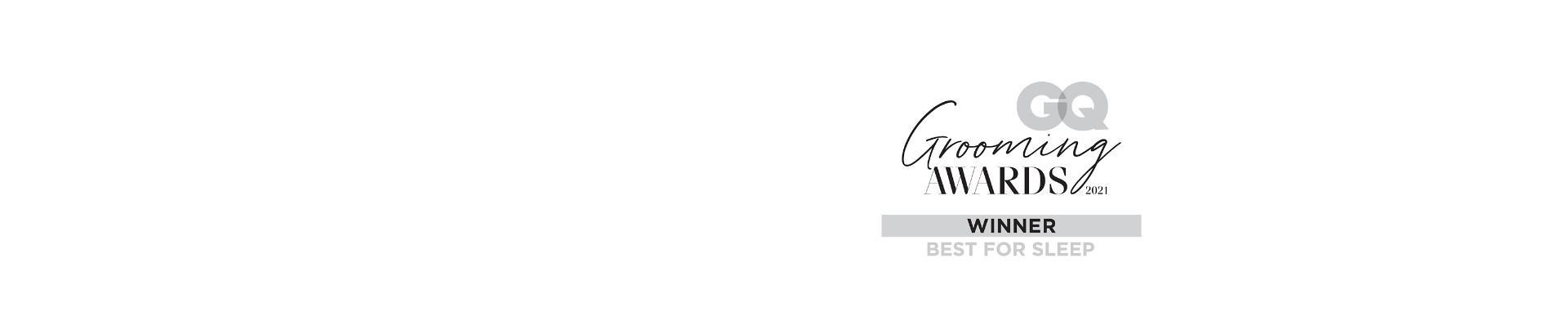 GQ Grooming awards logo – Best for sleep
