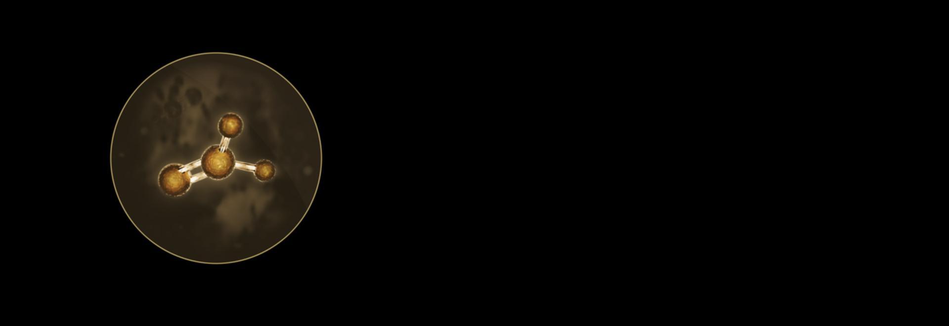 ภาพขยายของอนุภาคและก๊าซอันตราย รวมถึงฟอร์มาลดีไฮด์