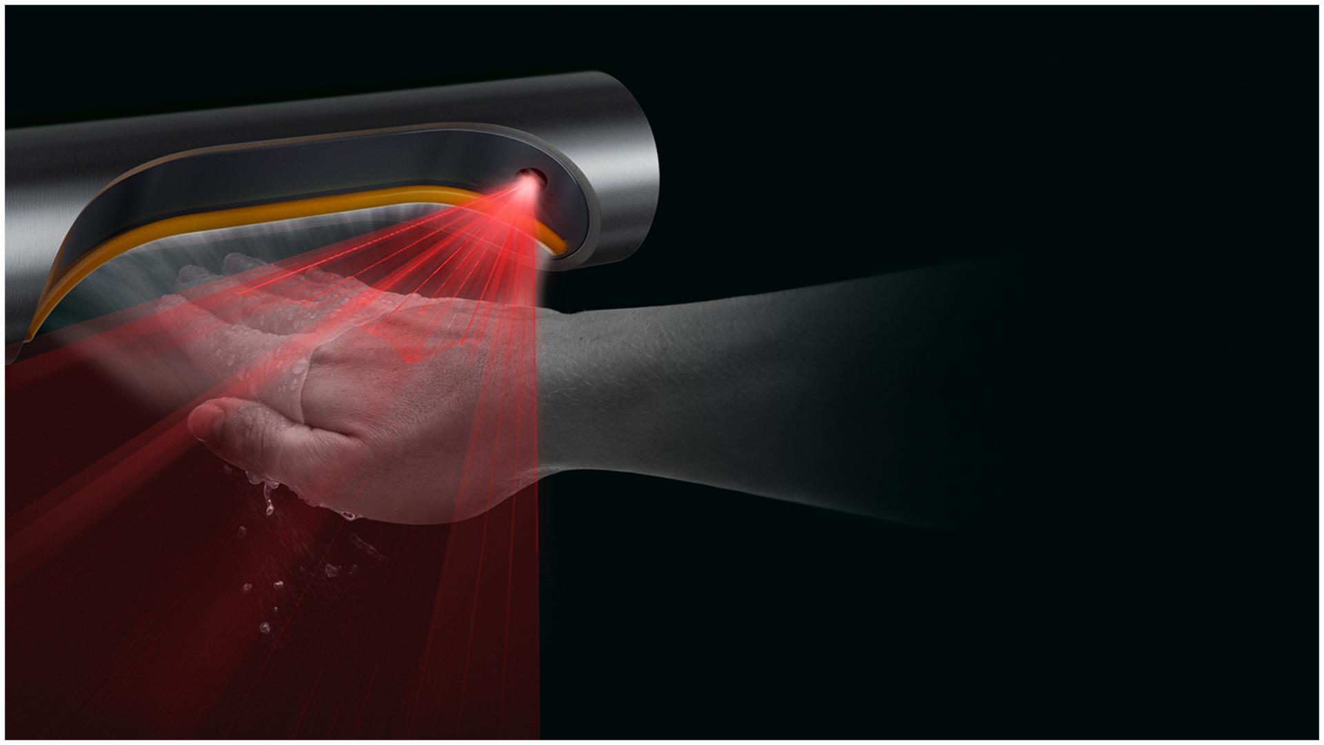 Tehnologia senzorilor de la uscător de mâini Airblade 9kJ