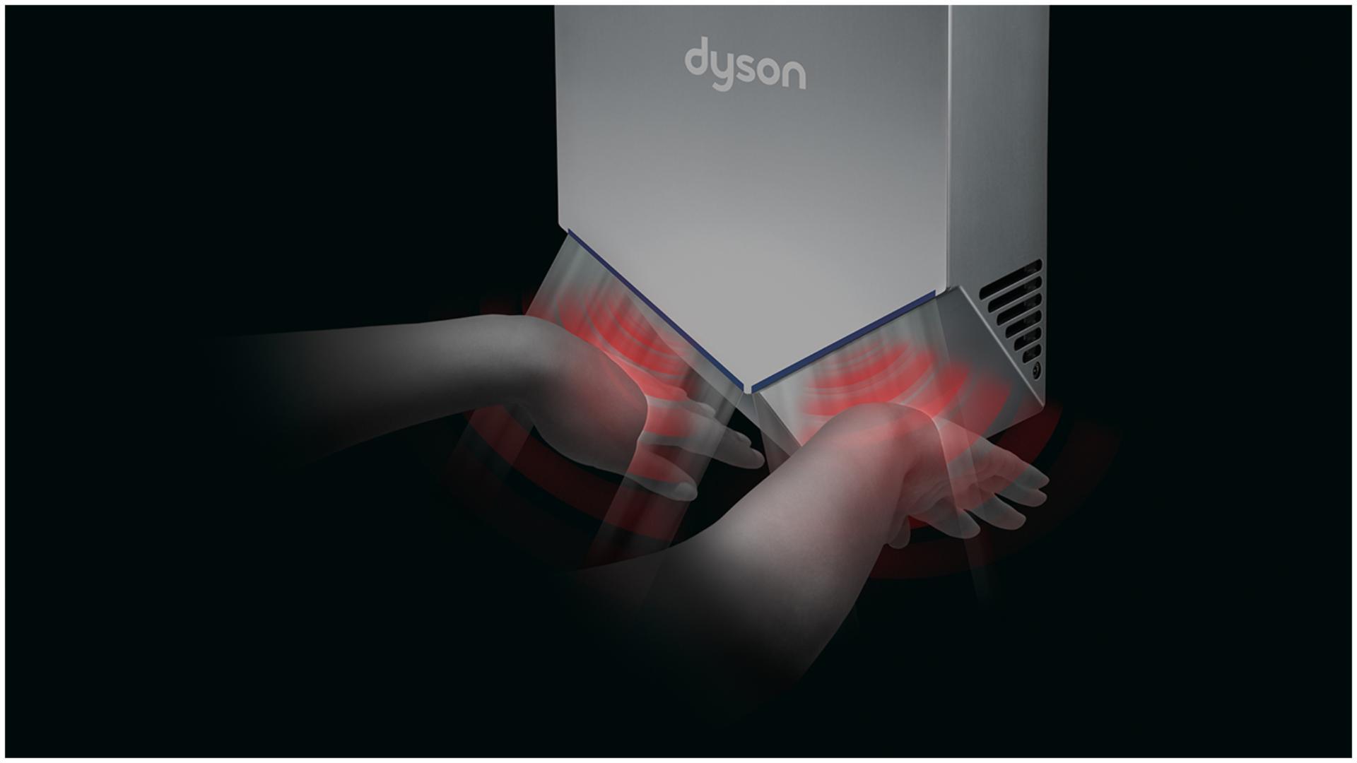 Tehnologia senzorilor de la uscător de mâini Airblade V
