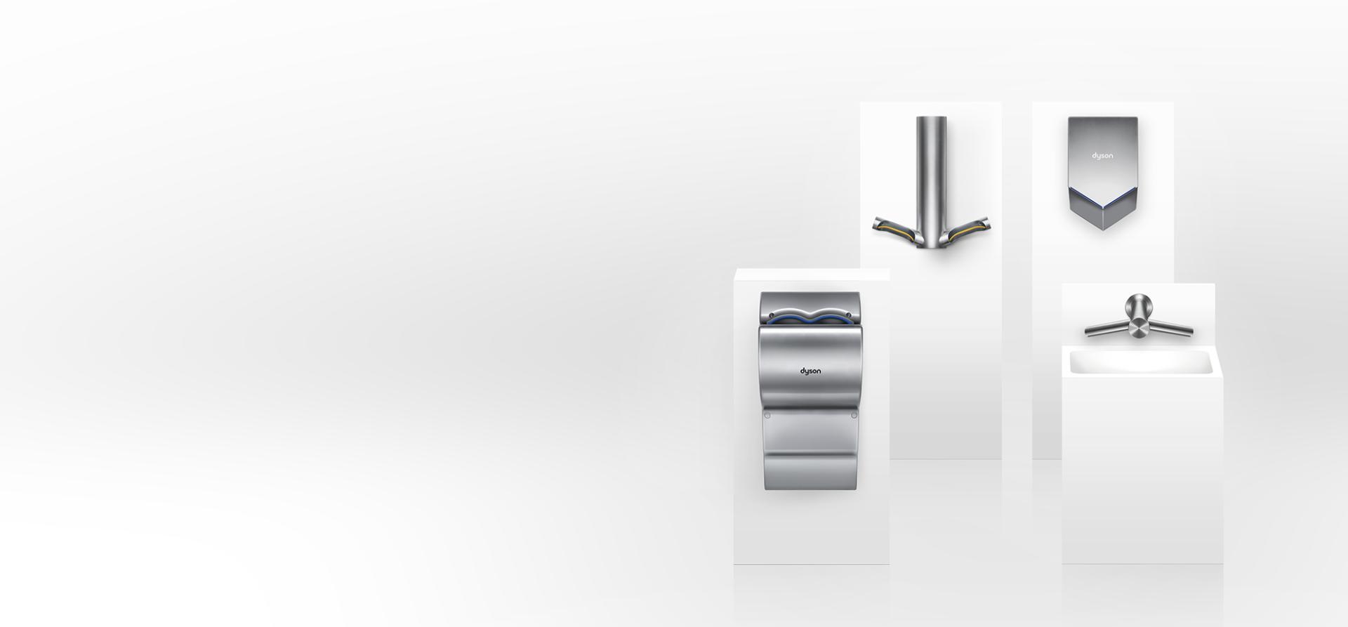 Dyson Airblade ürün yelpazesi