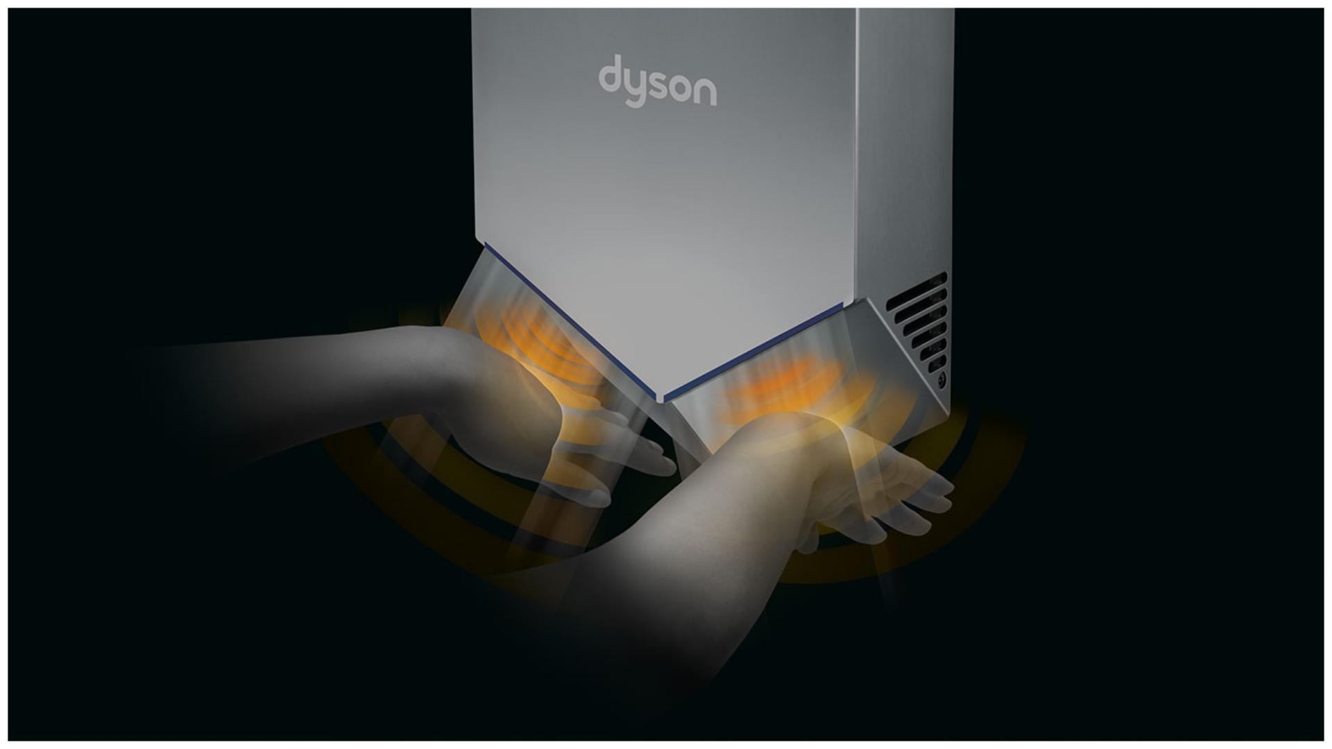 Dyson Airblade V 乾手機的感應技術