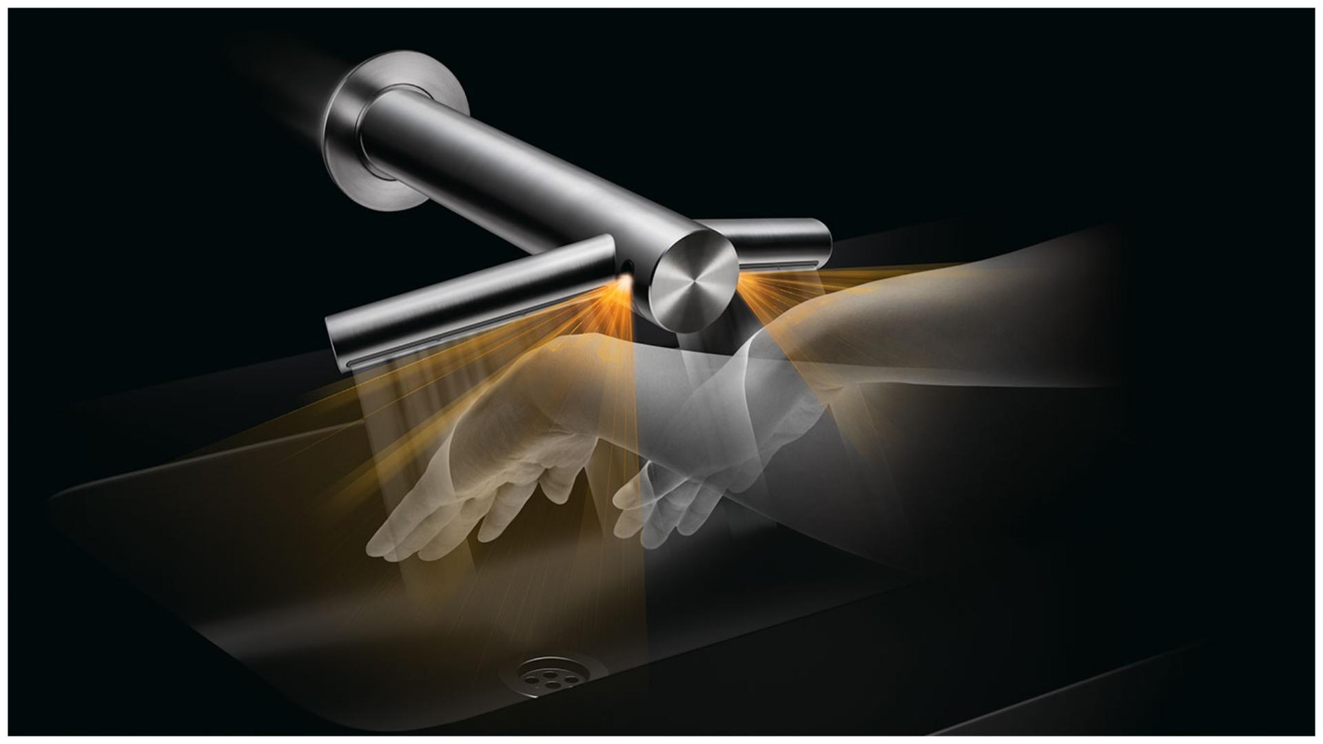 Dyson Airblade Wash+Dry 乾手機的感應技術
