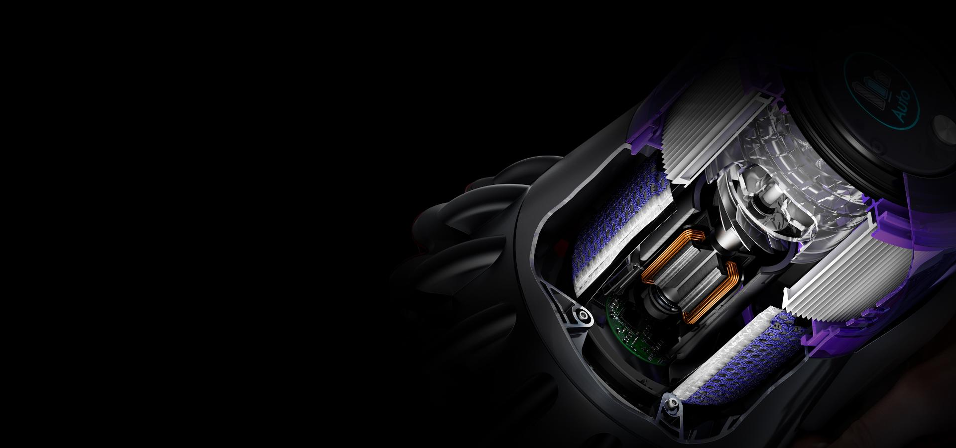 다이슨 하이퍼디미엄™ 모터