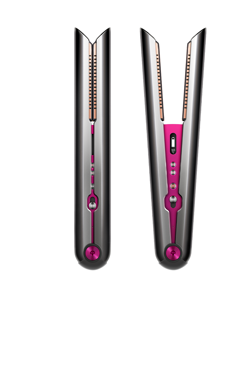 Dyson Corrale™ hair straightener (Black Nickel/Fuchsia)