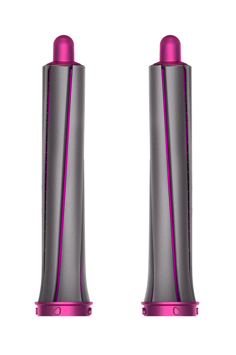 30mm Airwrap™ long barrels (Iron/Fuchsia)