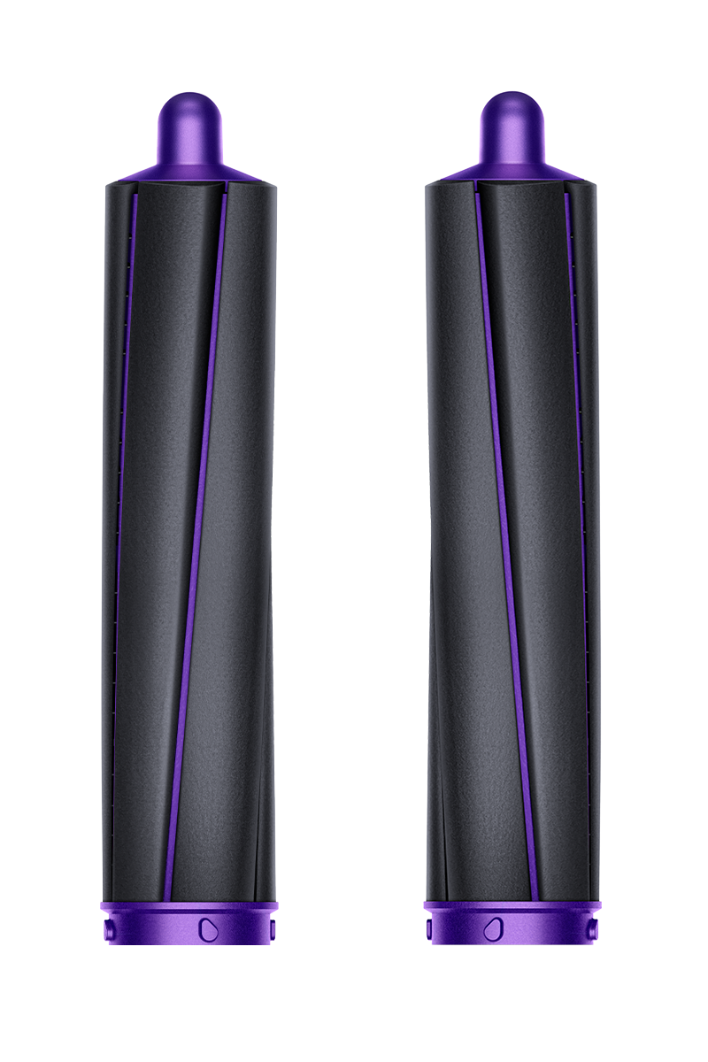 40mm Airwrap™ barrels long (Black/Purple)