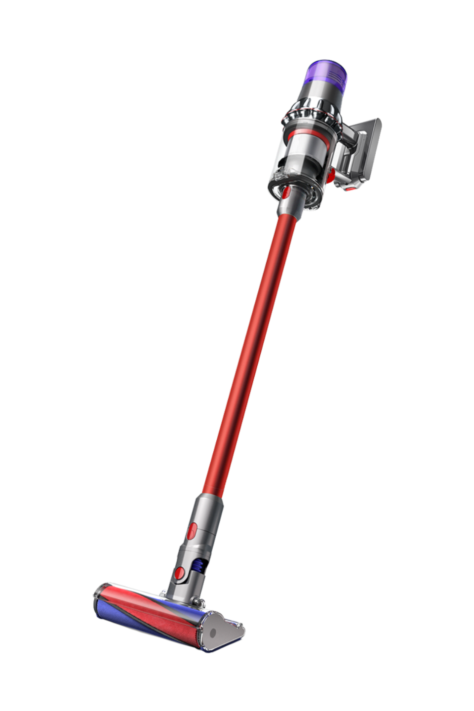 Dyson V11 Fluffy (Nickel/Red)
