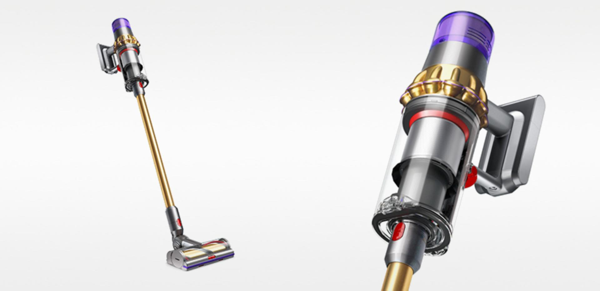 Image showing Dyson V11 Absolute Extra Gold cordless vacuum