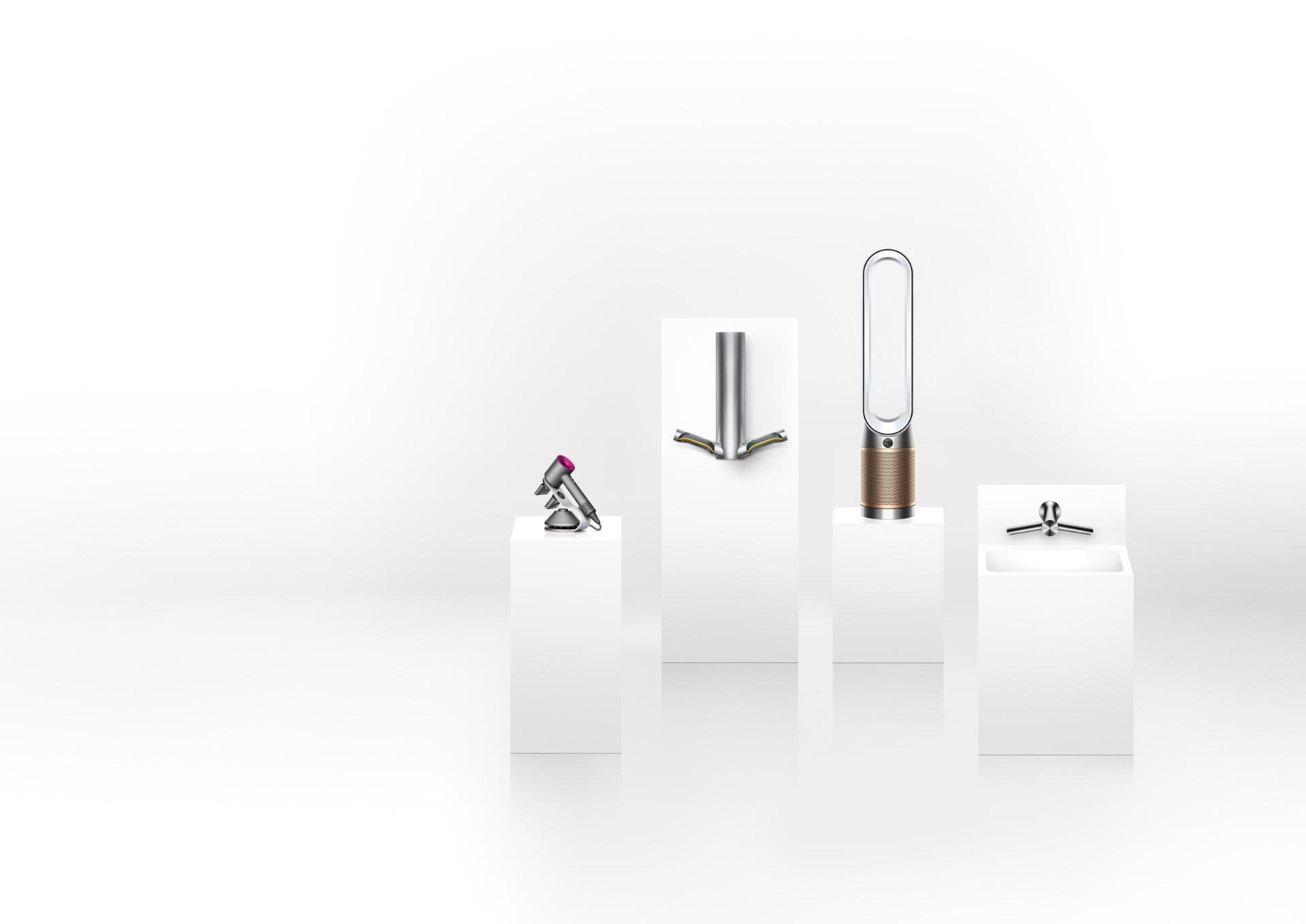 Photograph of the Dyson business range