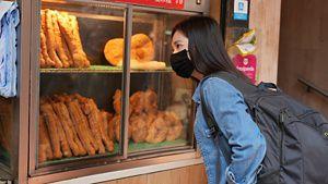 Congee food stall