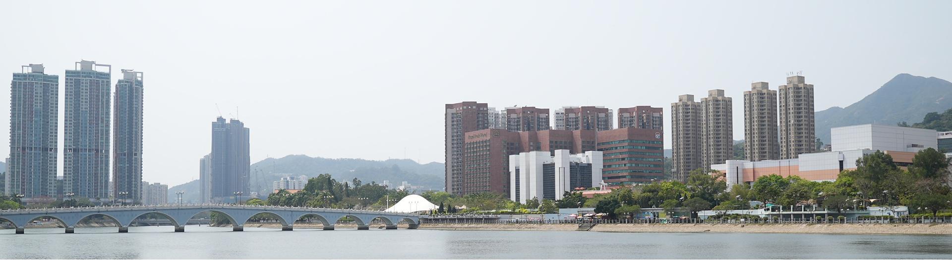 Hong Kong residental view