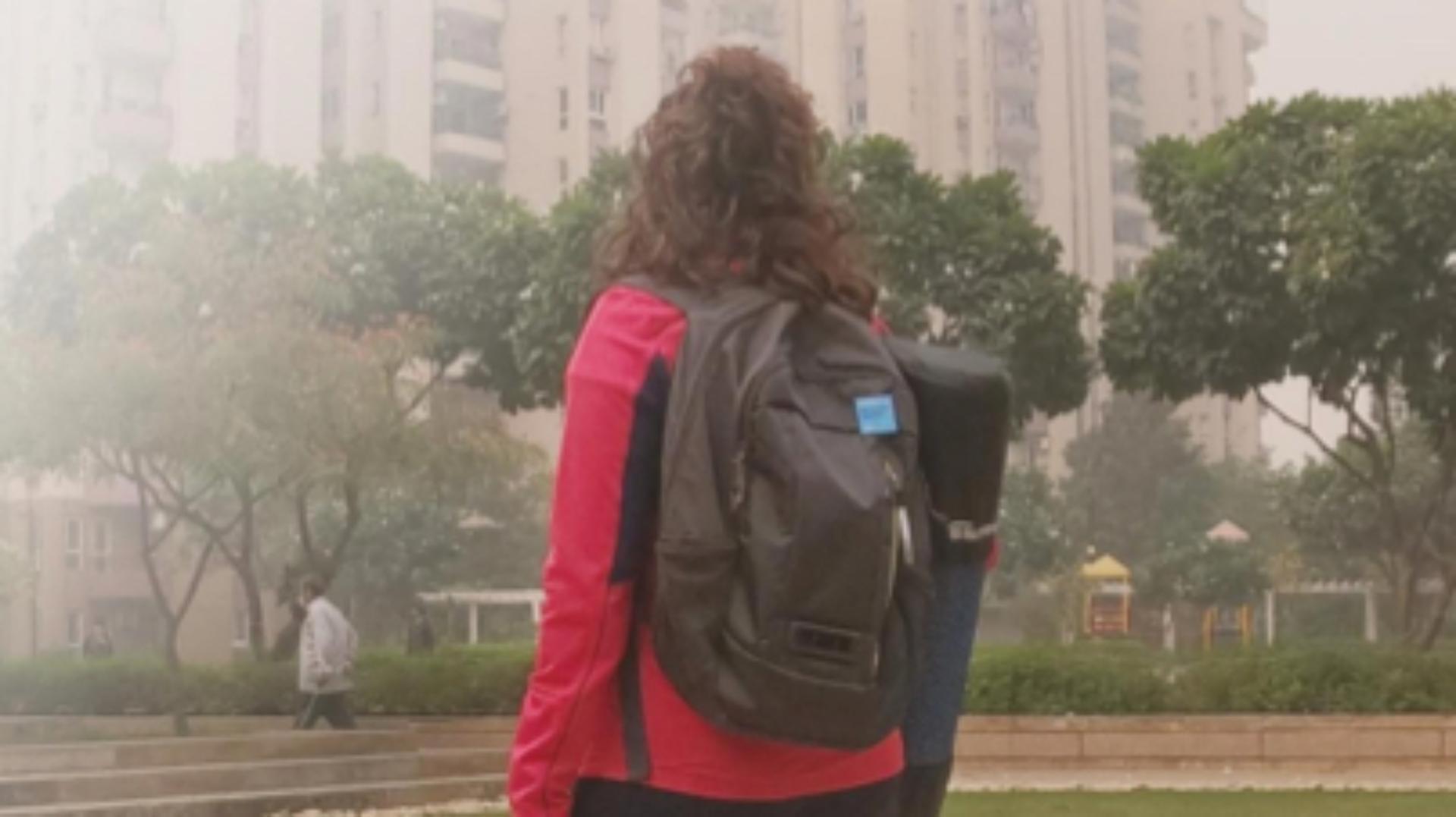 印度新德里的空氣質素