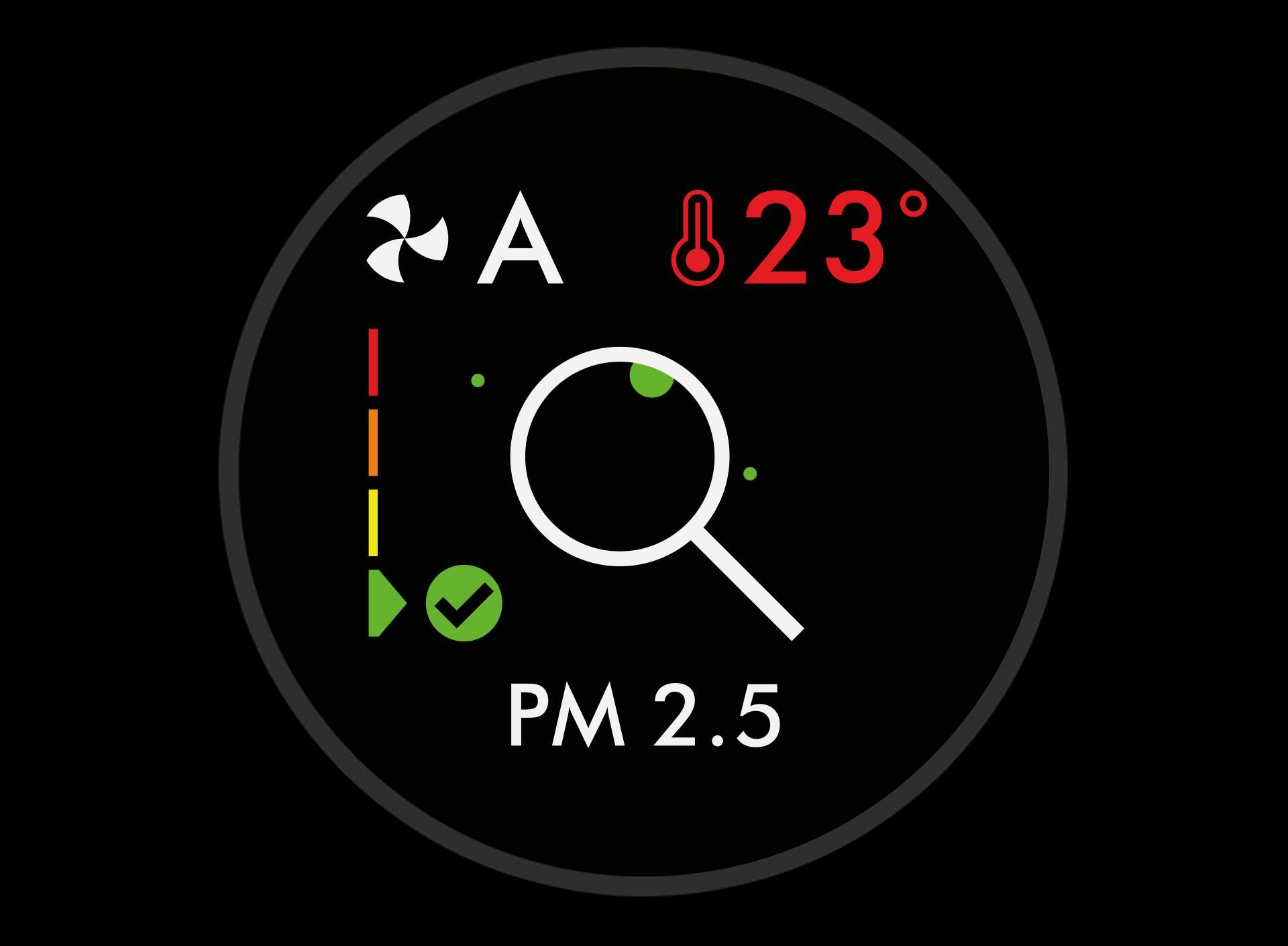 PM 2.5 level