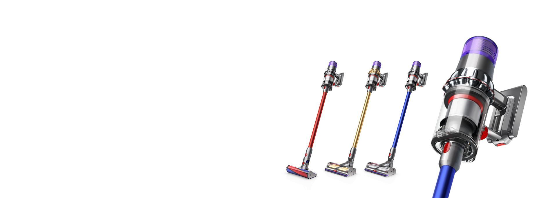 Dyson vacuums
