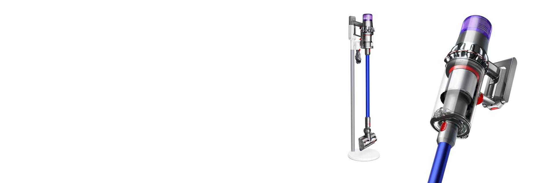 Dyson V11 machine mounted on floor dok