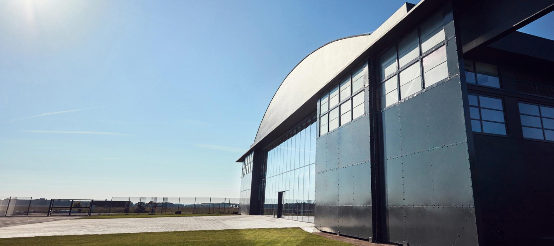 Dyson Hullavington hangar