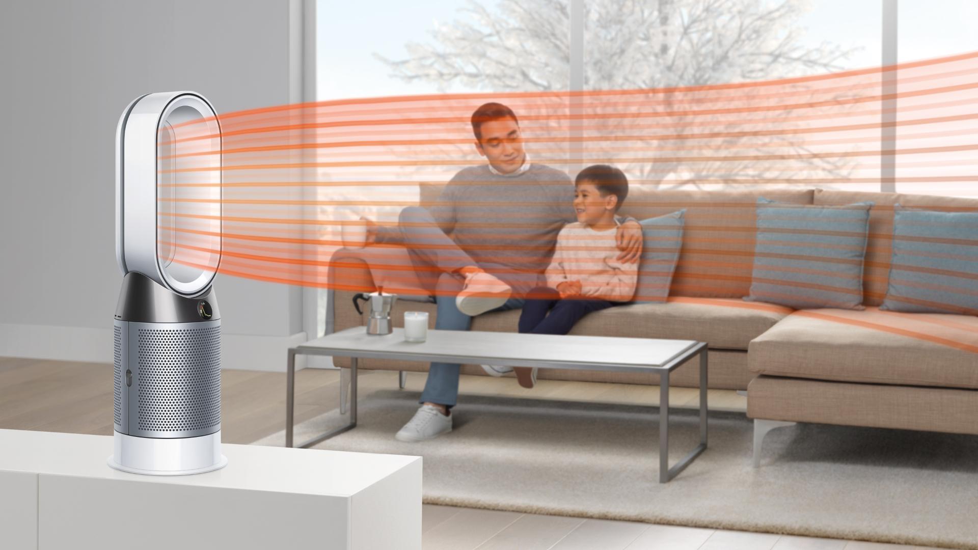 Čistička vzduchu s teplovzdušným ventilátorem Dyson Pure Hot+Cool™