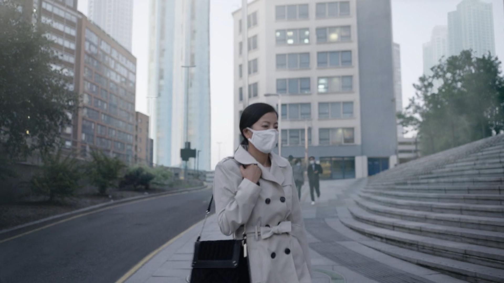 도시의 공기 오염