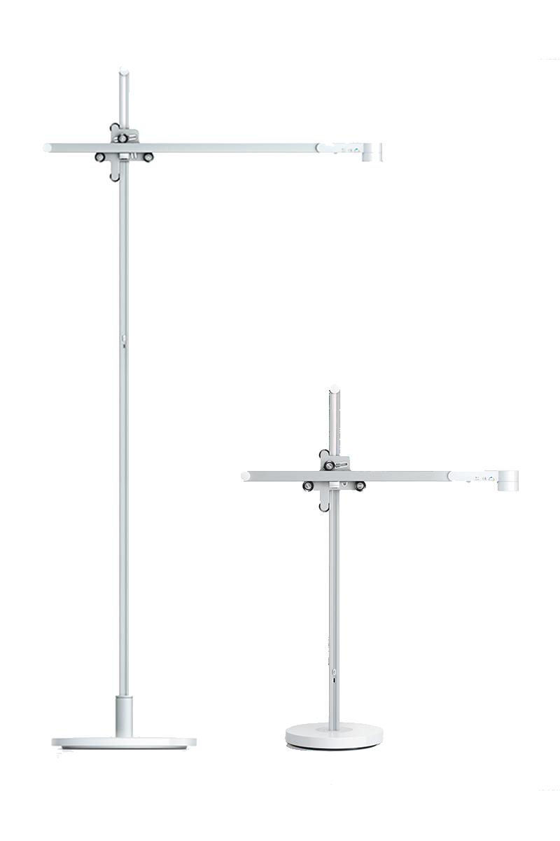 Dyson Kit:  Lámpara de piso y escritorio Dyson Lightcycle™ Blanca