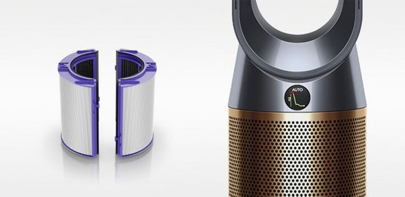Dyson Pure Coolᵀᴹ Tower Air Purifier White Silver Dyson