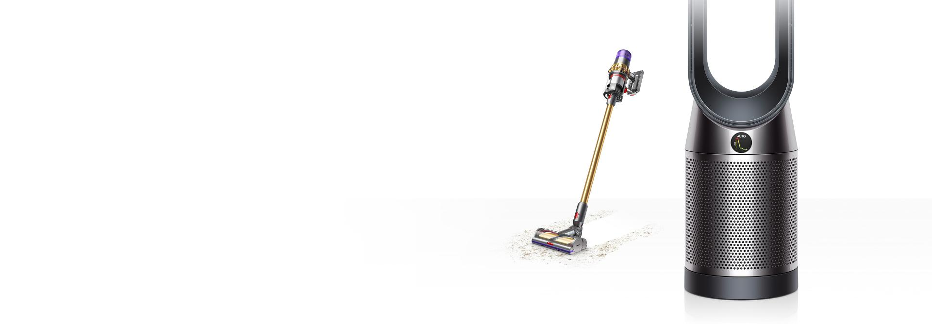 Dyson vacuum and air purifier