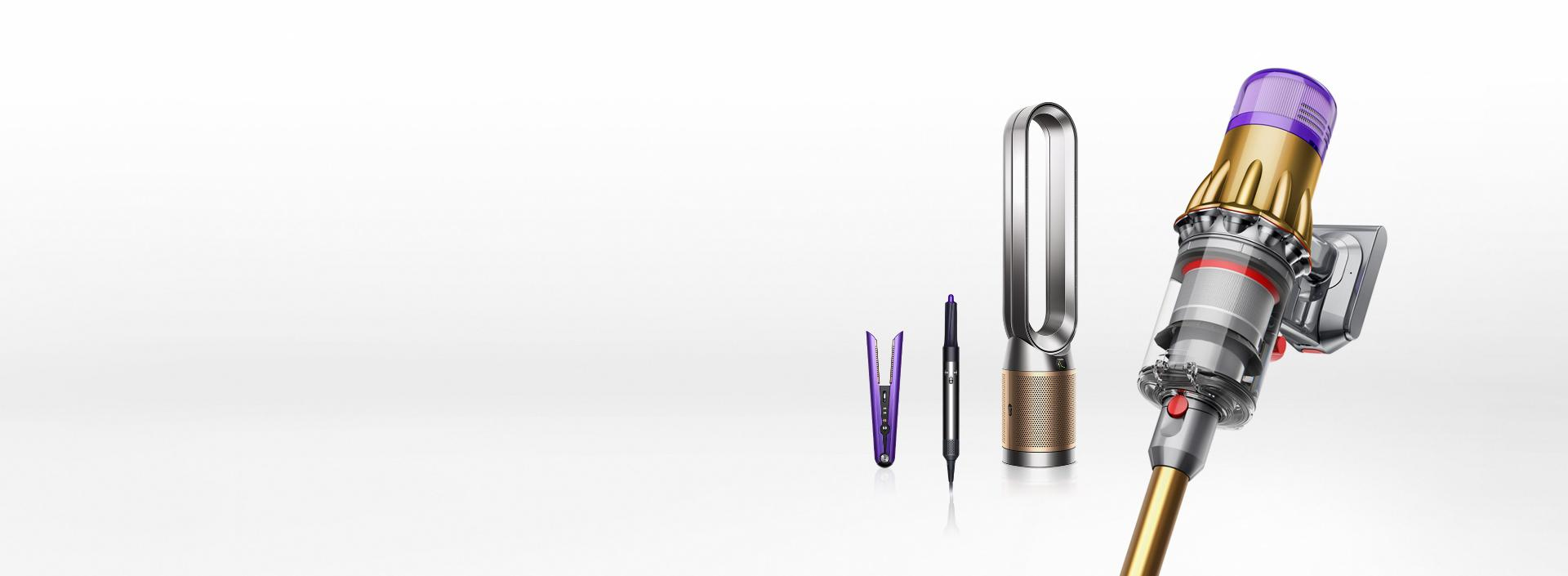 Range of Dyson products