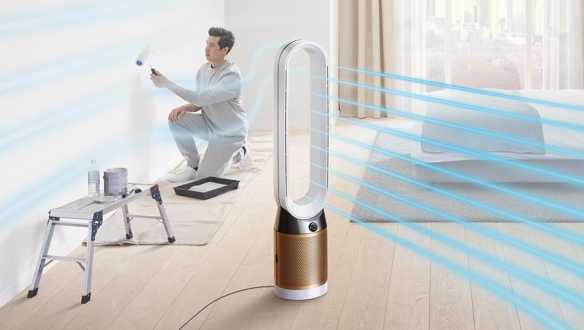Dyson air purifiier and heater in one