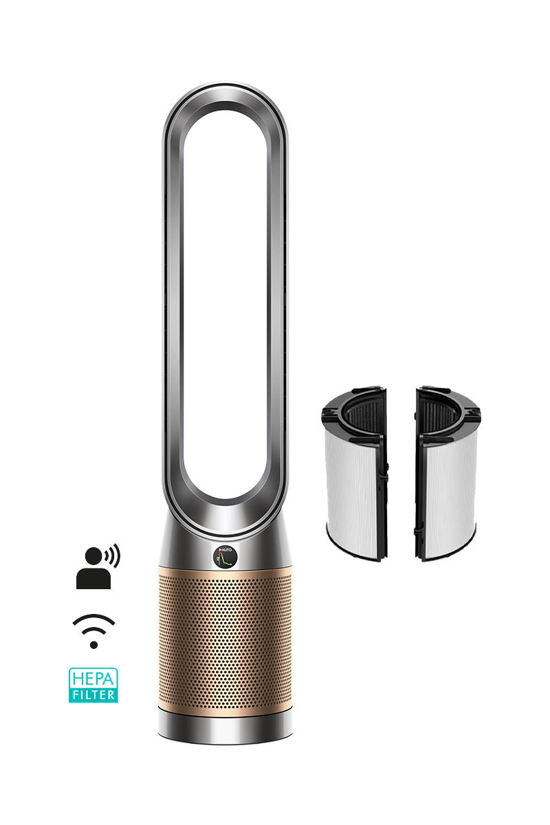 Dyson Purifier Cool™ Formaldehyde air purifier TP09 (Nickel/Gold)