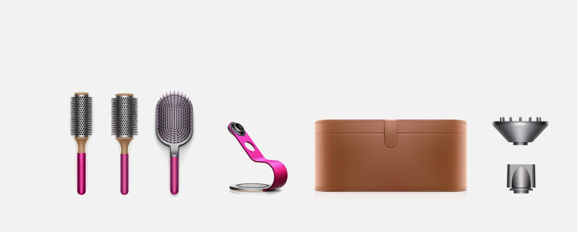 Dyson Supersonic attachments and accessories