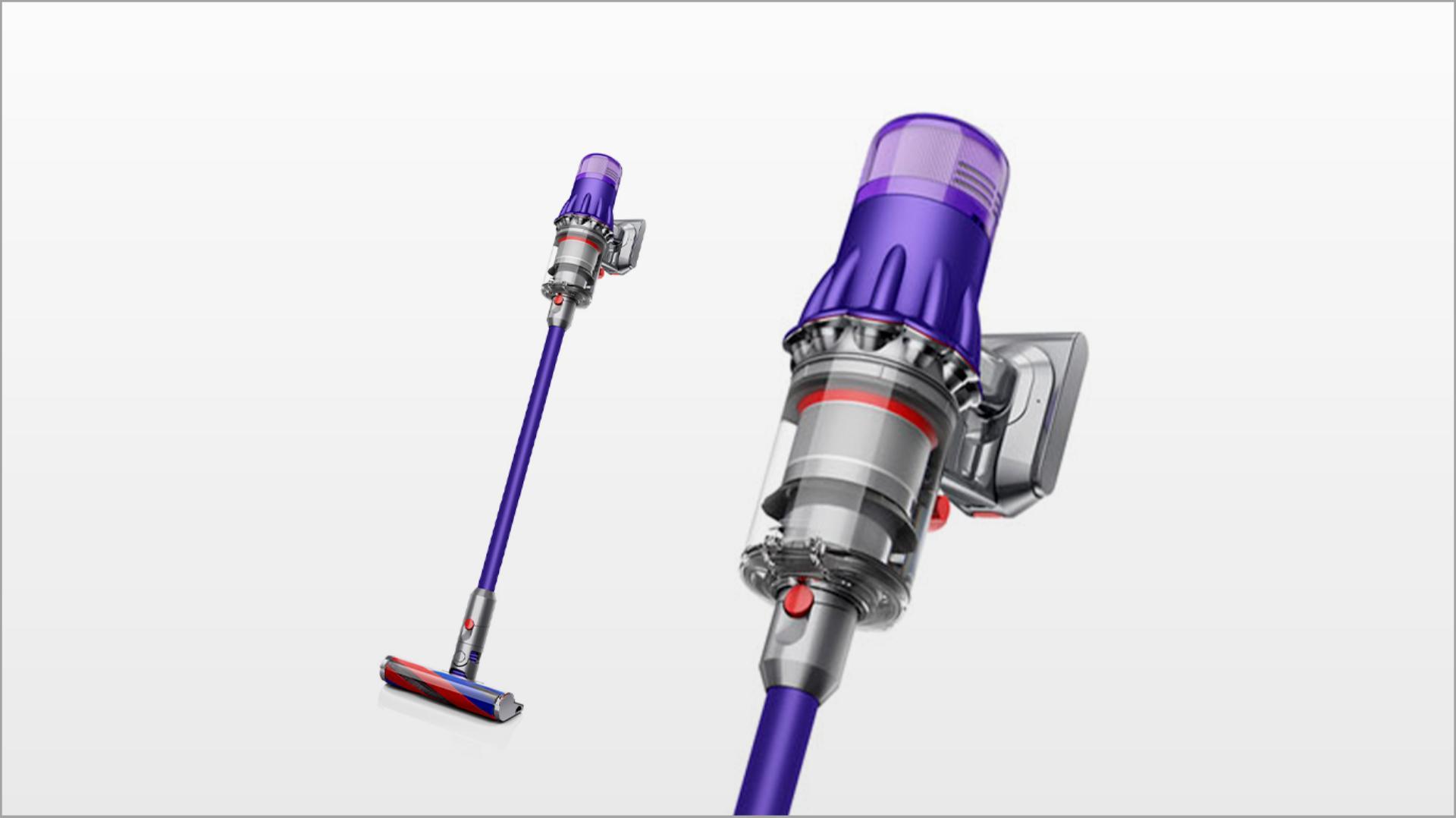 Dyson Digital Slim™ Fluffy Extra vacuum (Purple/Iron)