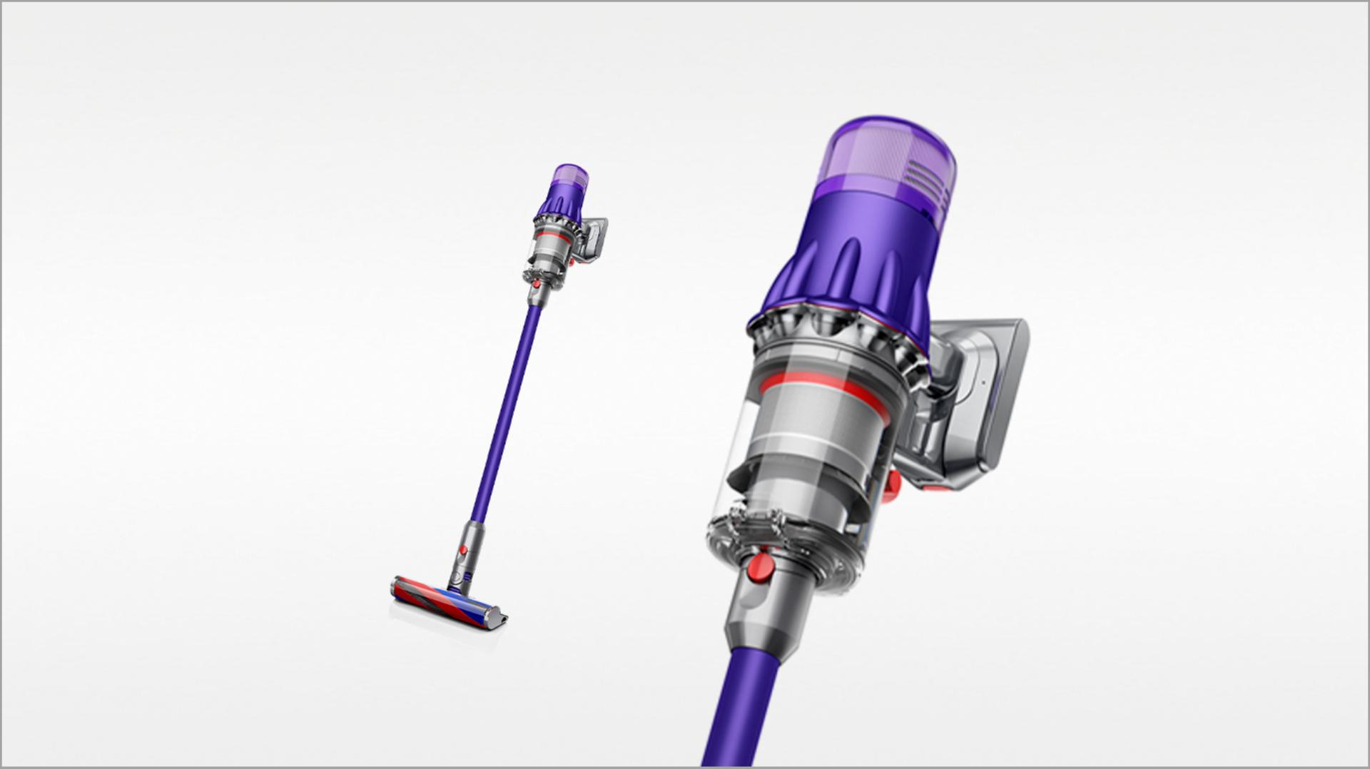 Dyson Digital Slim™ Fluffy (Purple/Iron)