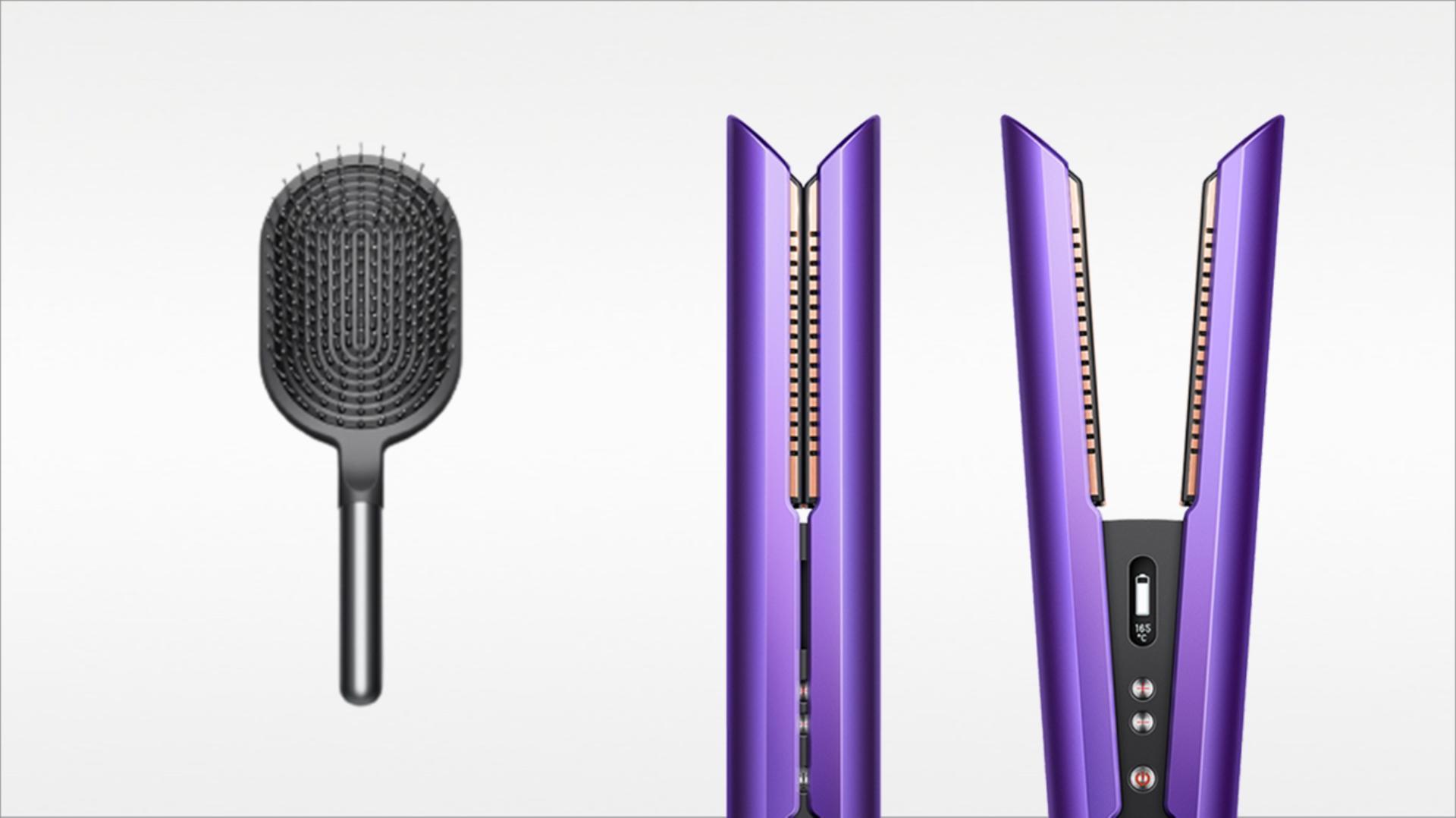 Dyson Corrale™ straightener (Purple/Black)
