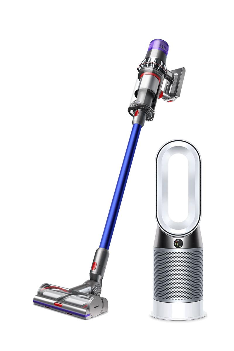 حزمة دايسون لمنزل أكثر صحة ونظافة: Dyson V11 Absolute أزرق + Dyson Pure Hot+Cool™