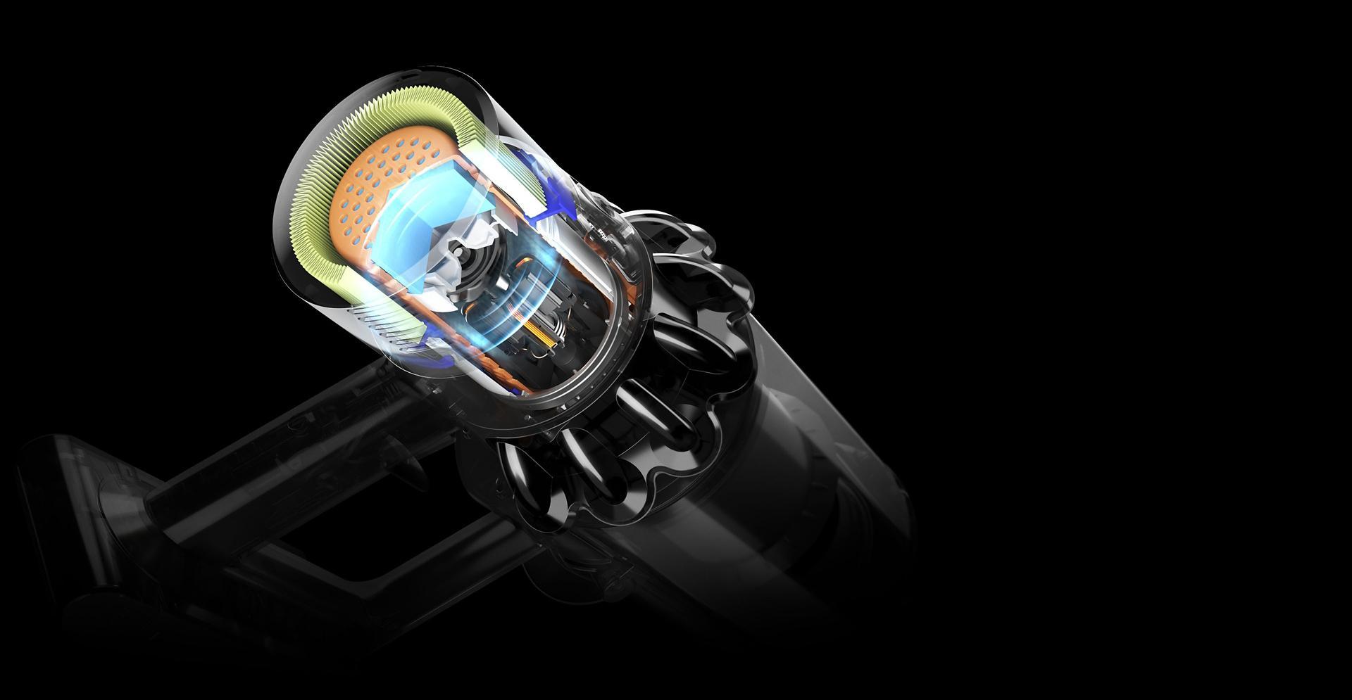 הדגמה של המנוע הדיגיטלי של V10