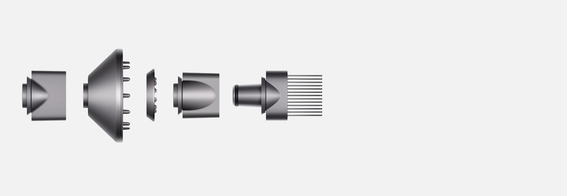 مجموعة ملحقات مجفف الشعر Dyson Supersonic™