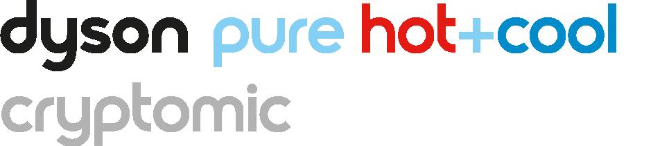 Logo du purificateur Dyson Cryptomic