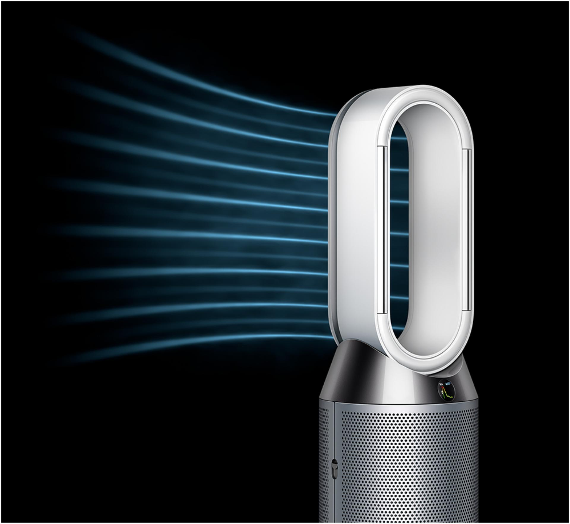 The Dyson purifier humidifier in Diffused mode