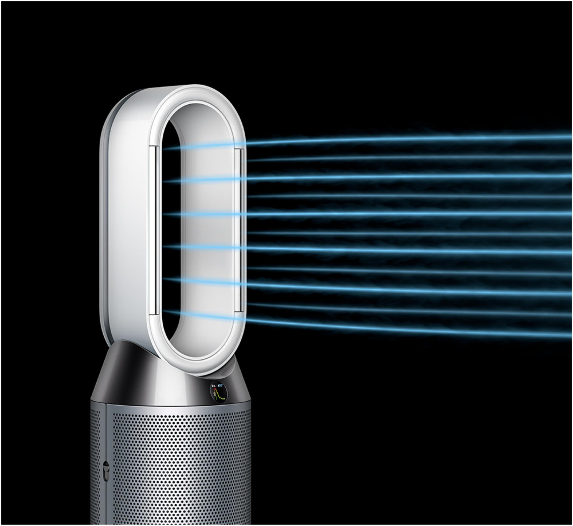 The Dyson purifier humidifier in Fan mode
