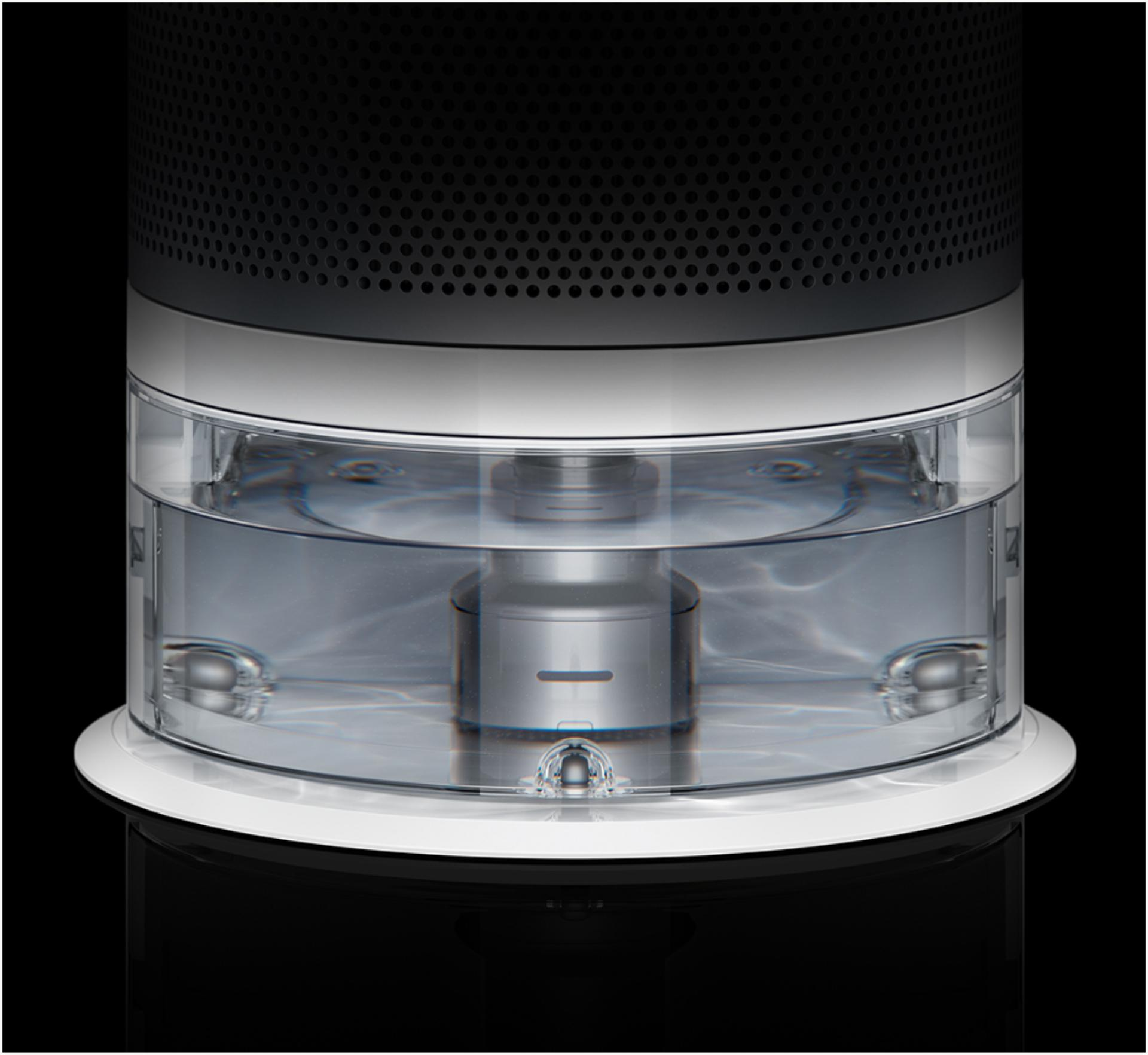 The Dyson purifier humidifier fan water tank