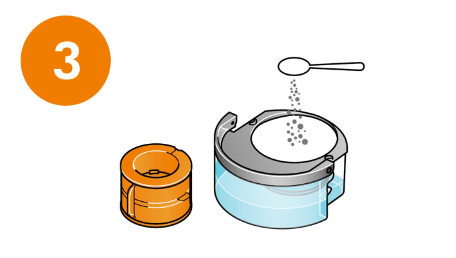 Przygotuj środek czyszczący