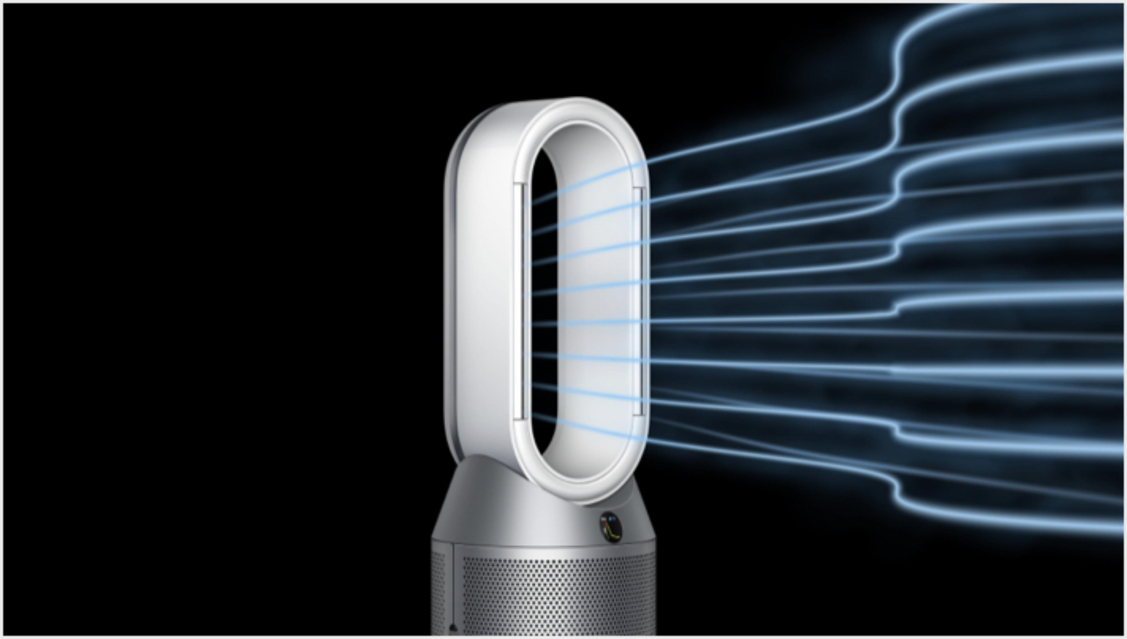 Przepływ powietrza pokazujący kierunek trybu bryzy
