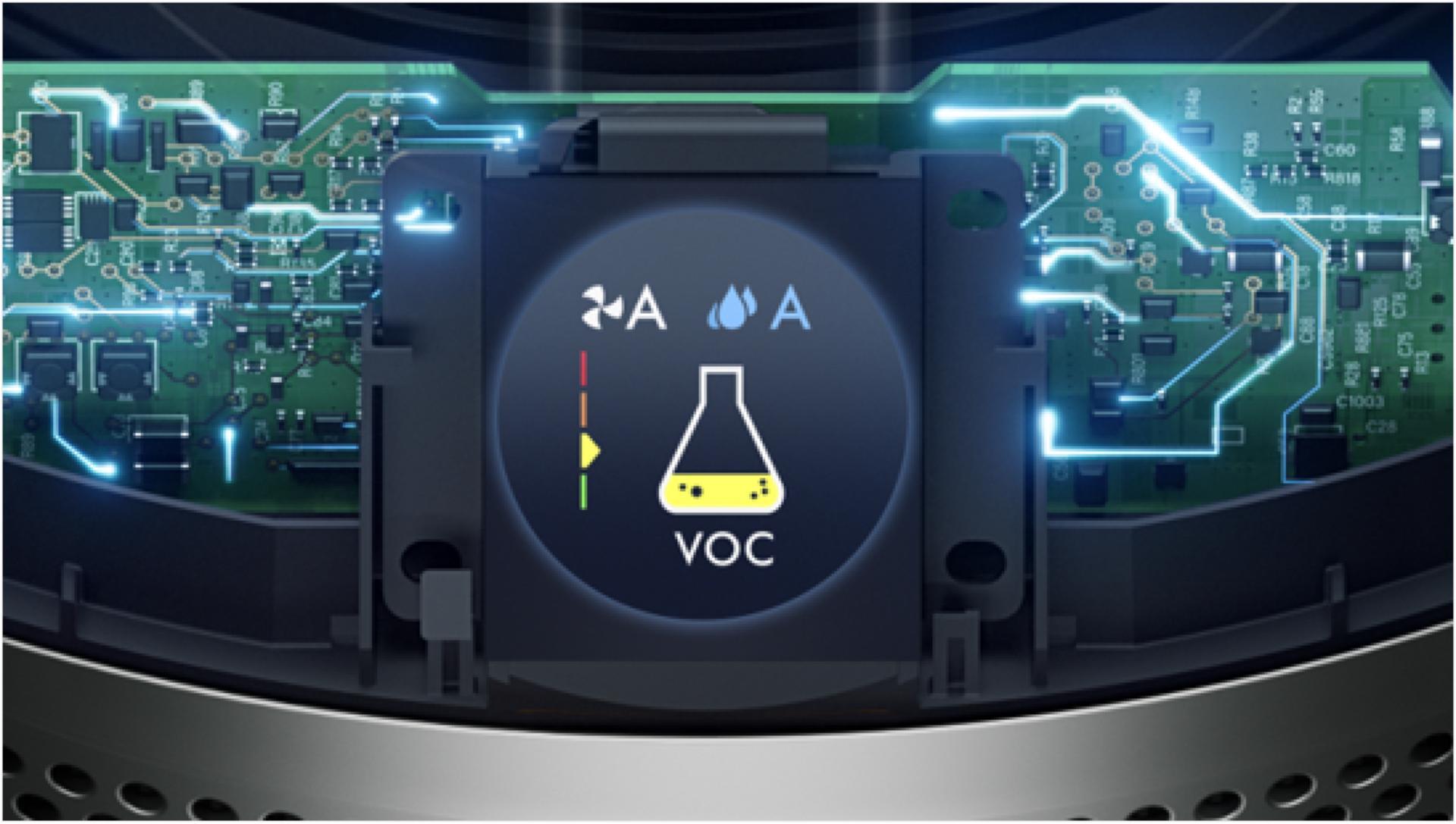 Zbliżenie na ekran LCD