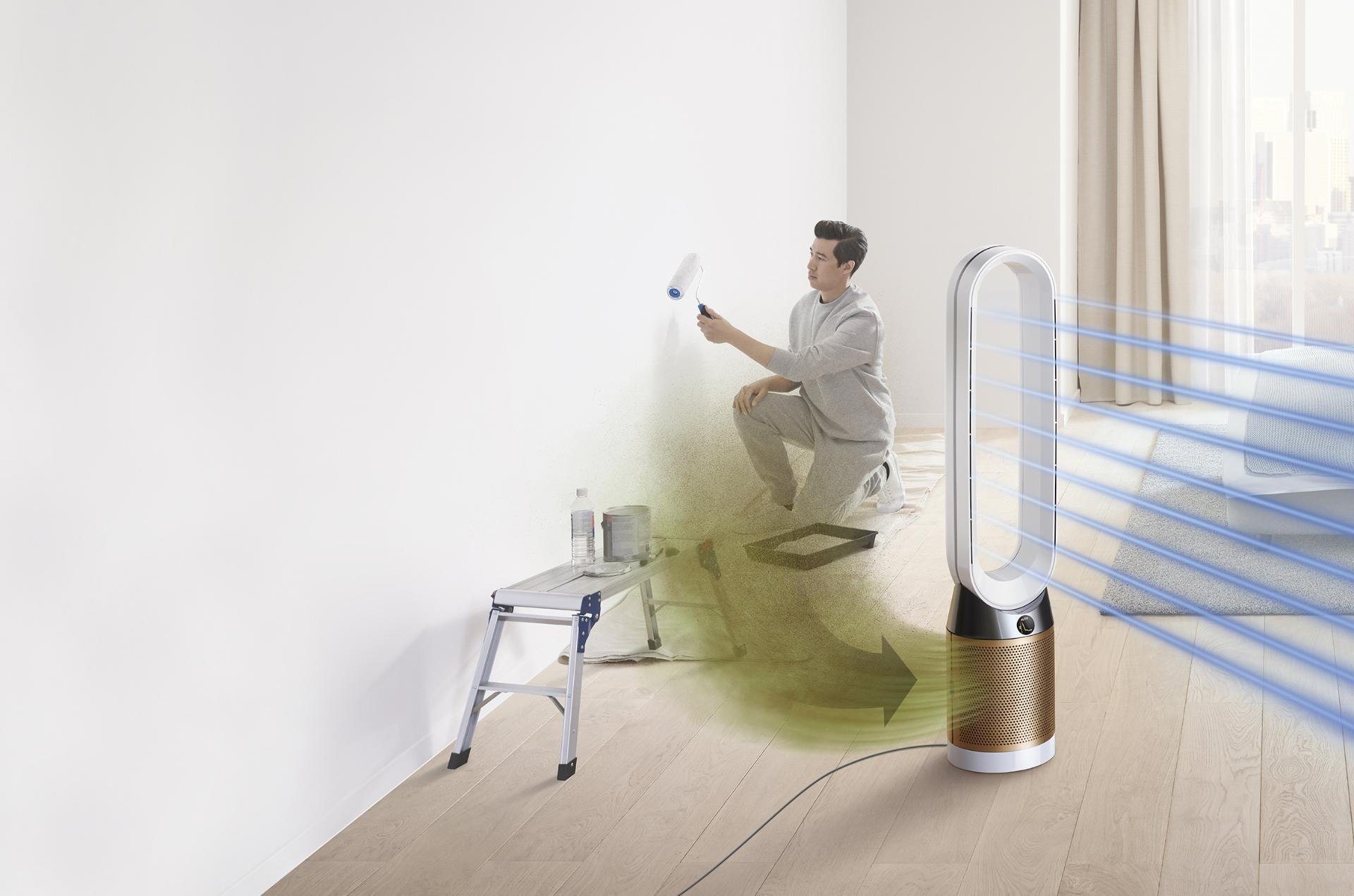 Dyson Pure Cool Cryptomic projecting purified air