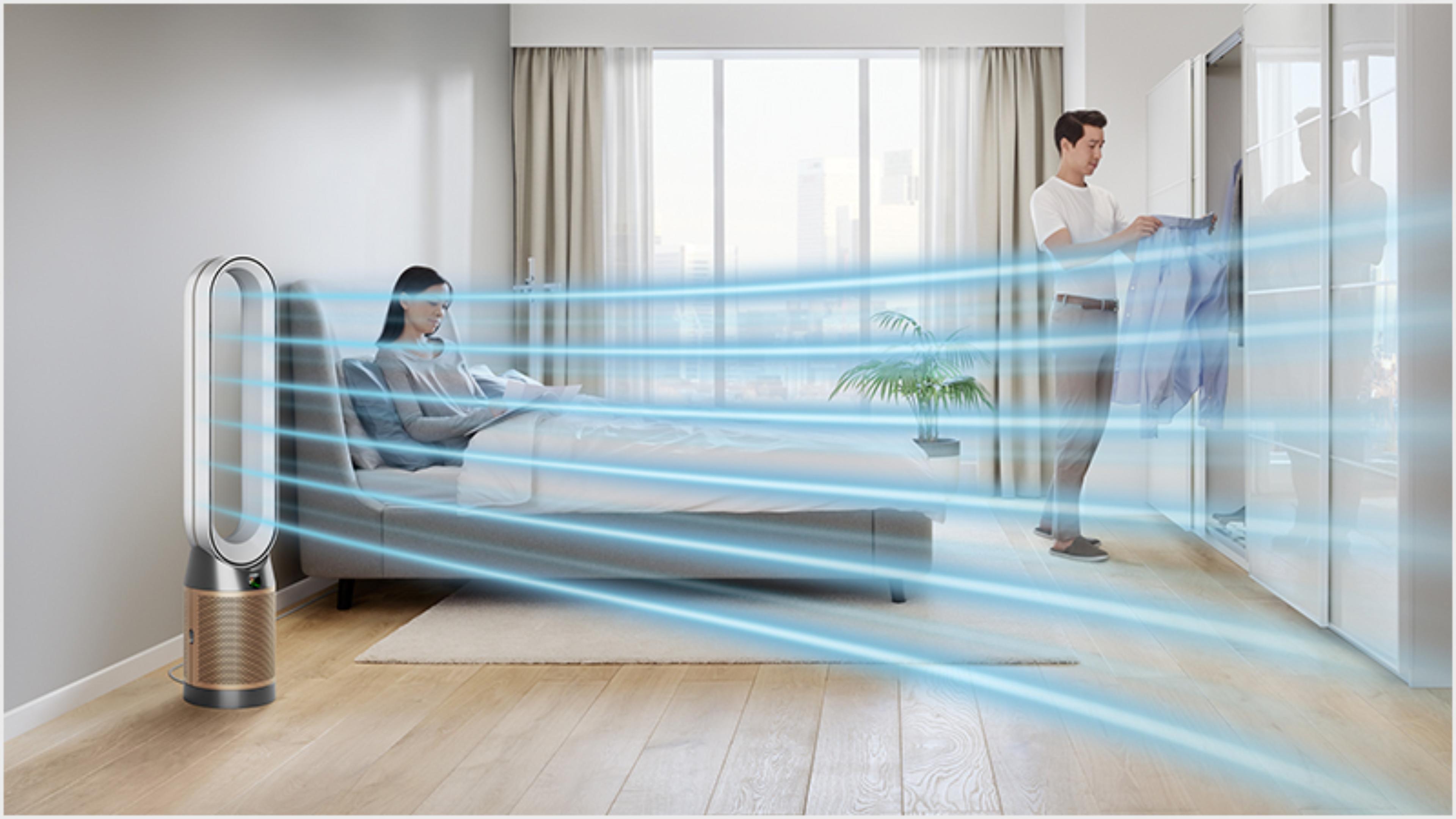 Grafika prezentująca cichsze działanie