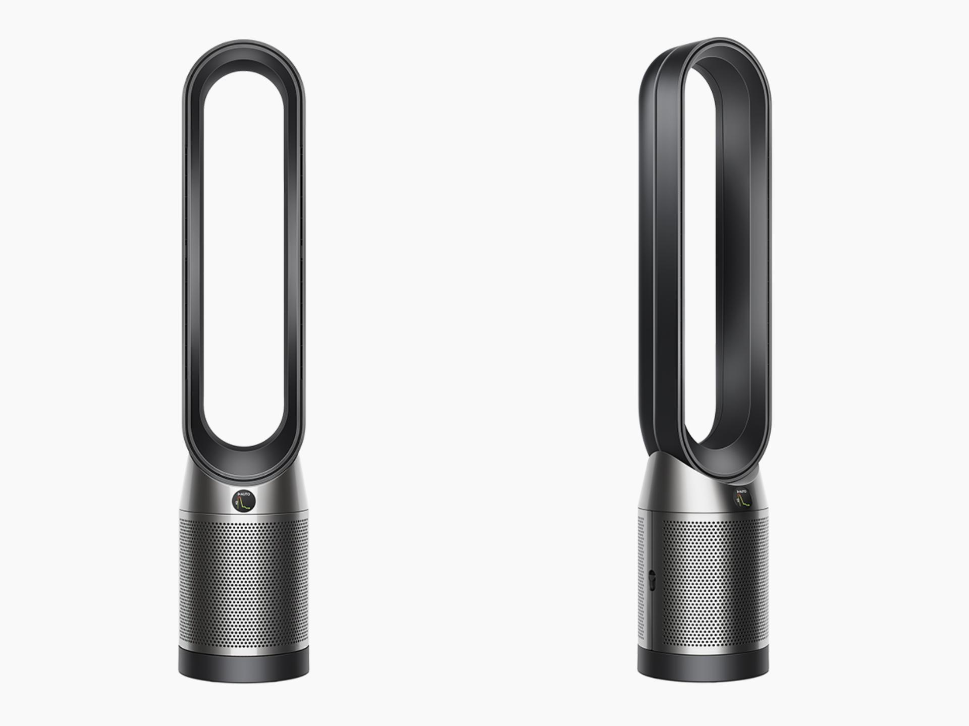 Different angles of the Dyson Purifier Cool purifying fan heater