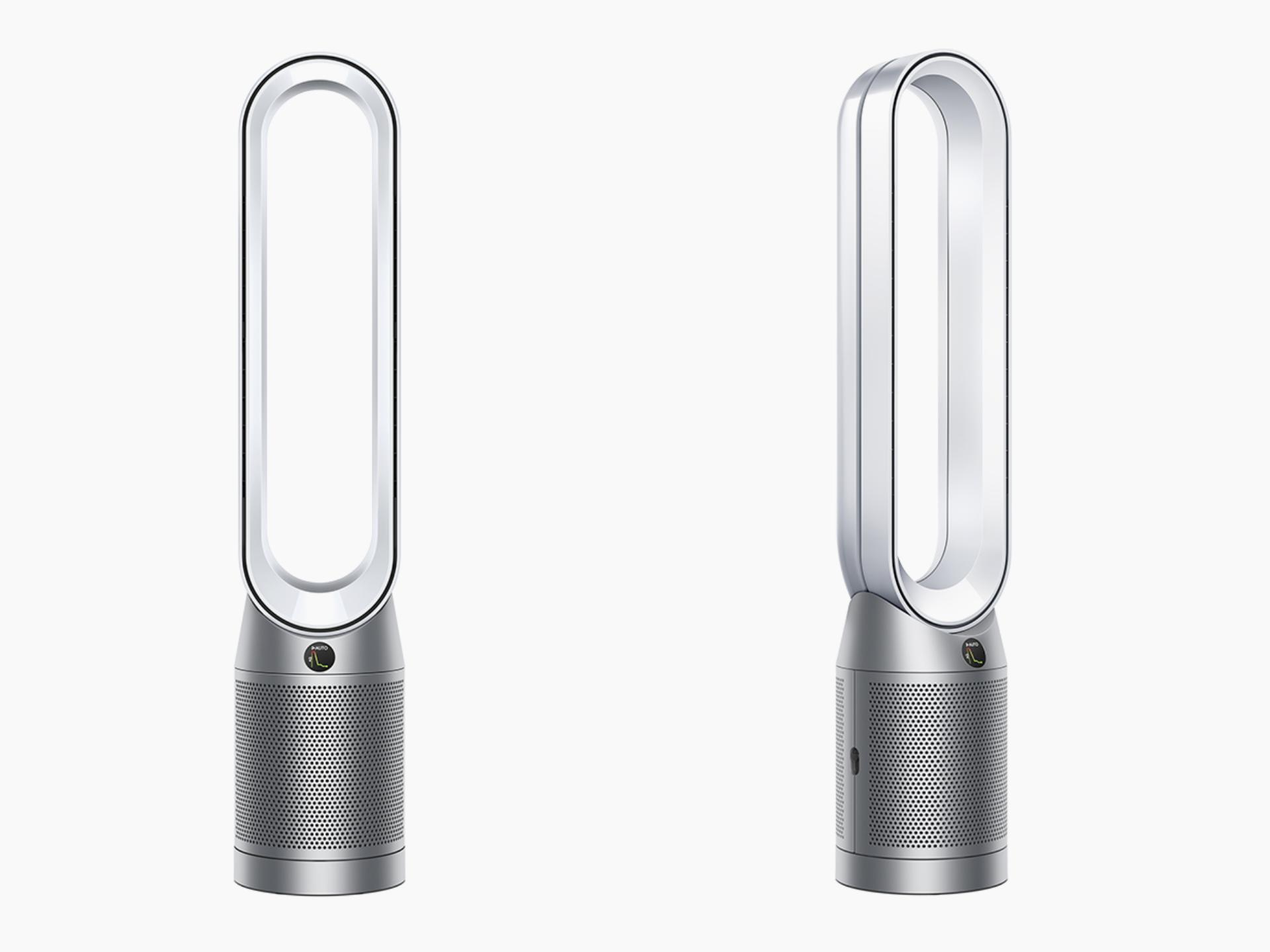 Dyson Purifier Cool front and side views